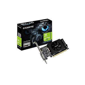 جيجابايت نفيديا Geforce Gt 710 1Gb Ddr5 بطاقة الجرافيك Pcie