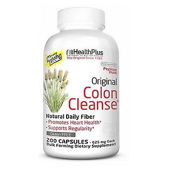 Health Plus Alkuperäinen paksusuolen puhdistus, 625 mg, 200 korkkia