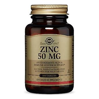 Solgar Zink, 50 mg, 100 Tabletten