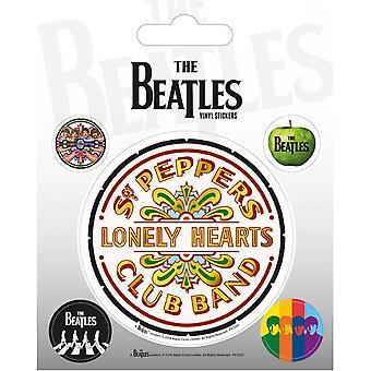 Beatles Sgt Pepper Tarrat Set (Pakkaus 5)