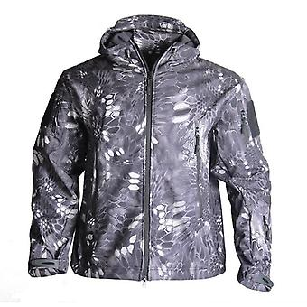 Men's Military, Camouflage Fleece Jacket