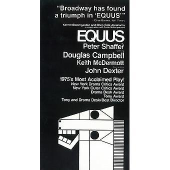 Equus (Broadway) Movie Poster (11 x 17)