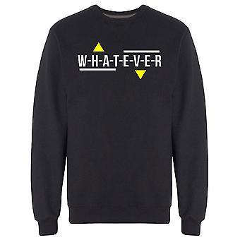 Urban Generation Whatever Sweatshirt Men's -Image by Shutterstock