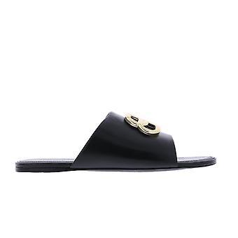 Balenciaga Overal BB Sandal Sort 604061 sko