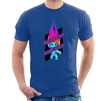 Trolls Rub Hair For Good Luck Men's T-Shirt