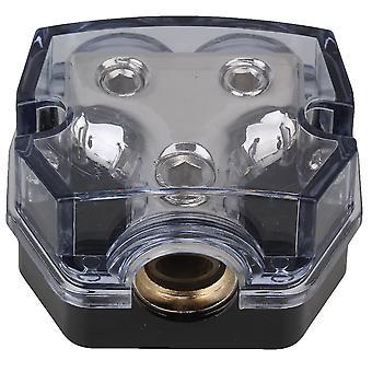 Car Audio 2 Ways Black Power Distributor Block Vehicle Accessories