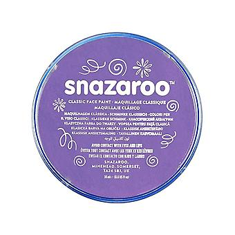 Snazaroo face and body paint, 18 ml - lilac (individual colour) classic 18ml