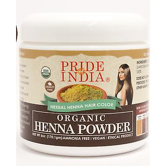 Organic Henna Hair Color Powderar