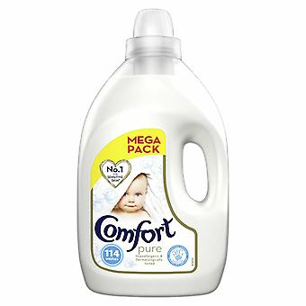 Comfort verzachter Fabric Conditioner, Pure, 114 Wash, 4L