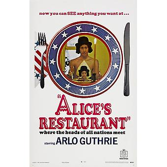 AliceS Restaurant Us Poster Arlo Guthrie 1969 Movie Poster Masterprint