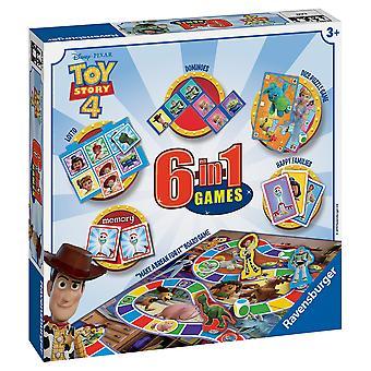 Ravensburger Games Toy Story 4, 6 en 1 Games Box