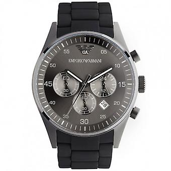 Armani Ar5889 Musta Urheilu Men's Steel Watch