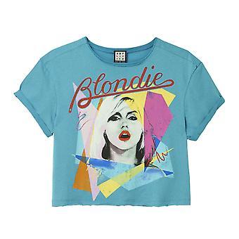 Amplified Blondie Ahoy 80's Women's Crop Top