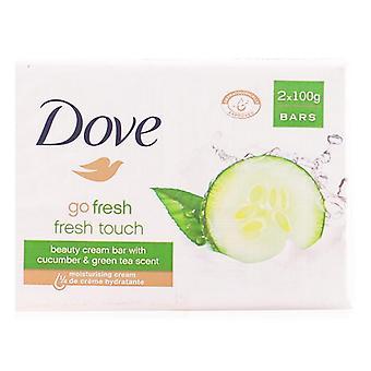Tvål Set Go Fresh Dove (2 st)