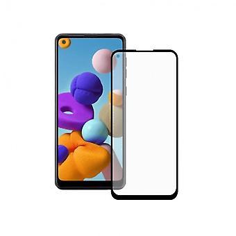 Hærdet glas mobil skærm beskytter Galaxy A21 KSIX Extreme 2.5D
