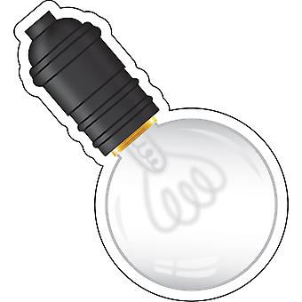 Industrial Chic Light Bulbs Cut-Outs, Pack Of 36