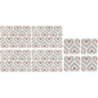 Beau & Elliot Vibe Placemats and Coasters, Chalk