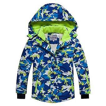 Hooded Kacket Pants Ski Set