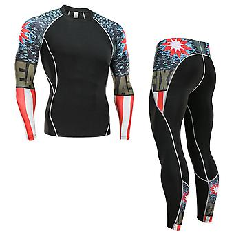 Winter Thermal Underwear Set's Sports Training