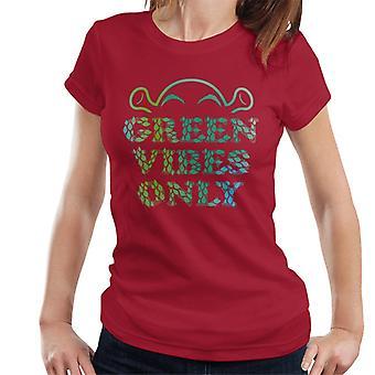 Shrek Green Vibes Only Women's T-paita