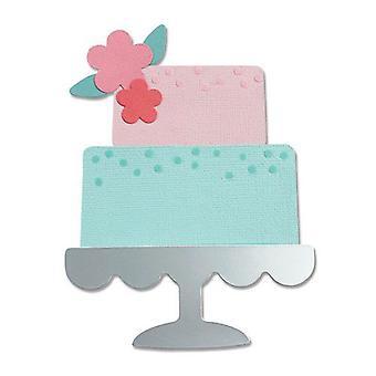 Sizzix Bigz Die - Celebration Cake 665095 Alexis Trimble