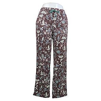 Cuddl Duds Women's Pants Comfortwear Regular Length Purple A381592