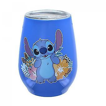 Disney Lilo og Stitch 10 Ounce rustfrit stål tørretumbler med låg