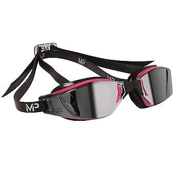 Aqua Sphere Xceed Ladies Swim Goggle - Mirror lens - Pink/Black Frame