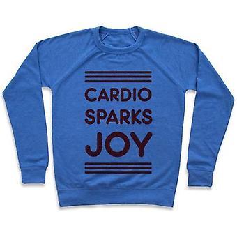 Cardio étincelles joie crewneck sweatshirtvz81267