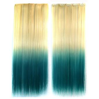 Wig Dyed Gradient Ramp Hair Extension