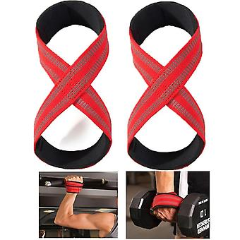 Weight Lifting Wrist Straps, Fit Crossfit Lifting Straps With Non Slip Flex