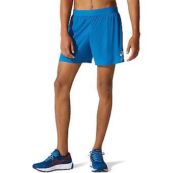 Asics Spodenki Ventilate 2IN1 5INCH Short M Niebieskie 2011A770403 running summer men trousers