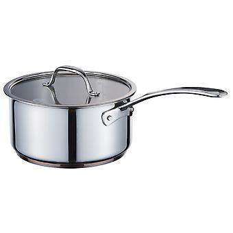 cooking pot 20 cm stainless steel copper