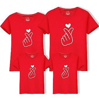 Dad Mom Baby Kerst T-shirt