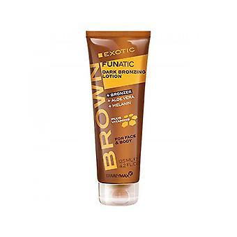 Tannymaxx Brown exotische Funatic voor gezicht en lichaam diepe Bronzing lotion-125ml