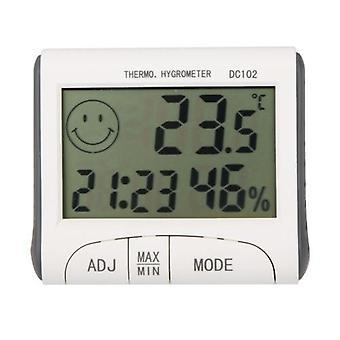 LCD Digital Thermometer Hygrometer Temperatur Luftfeuchtigkeit Meter w / Magnet