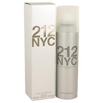 212 von Carolina Herrera Deodorant Spray 5,1 Unzen