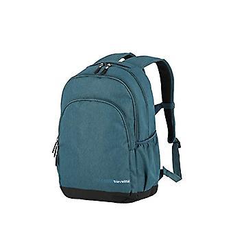 KICK OFF Gepäckserie: praktische Tasche/Tasche für Urlaub und Sport, handgefertigtes Handgepäck, schwarz (Türkis) - 06918-22
