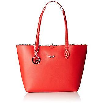 piero guidi Tote Bag + Envelope, Women's Bag, Red (Red), 34.5x29.5x14 cm (W x H x L)