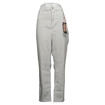 Laurie Felt Women's Jeans Reg Silky Denim Colored Zip Fly White A374325