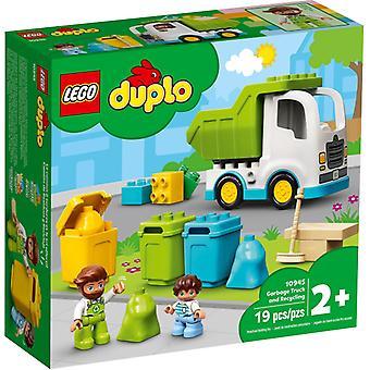 LEGO 10945 roska-auto ja kierrätys