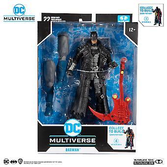 "Mcfarlane Death Metal Batman 2 DC 7"" Action Figure Darkfather BAF"