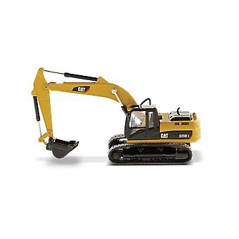 CAT 320 DL Tracked Excavator in Yellow (1:87 scale by Diecast Masters DM85262)