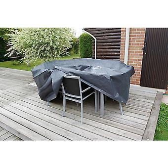 Natuurtuinmeubelenhoes voor ronde tafels 205x205x90 cm