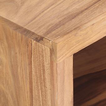 vidaXL sohvapöytä 80x45x30 cm massiivipuu