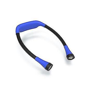 Sininen led-kaulan lukuvalo x2941