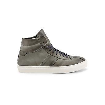 Duca di Morrone - Shoes - Sneakers - SS20-PELLE-GRIGIO - Men - gray - EU 42