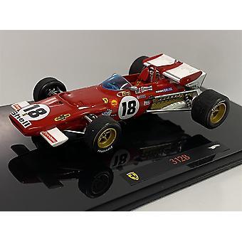 Ferrari 312B 1:43 Skala Begrenset Hot Hjul Elite N5588
