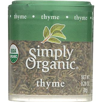 Simply Organic Mini Thyme Leaf Org, Case of 6 X 0.28 Oz