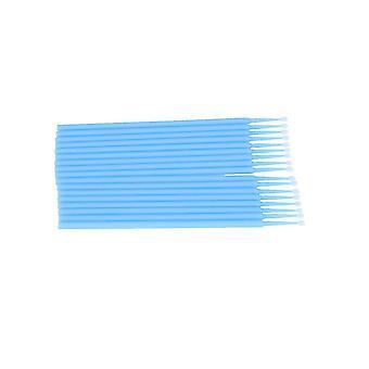 100 pezzi cotone tampone monouso micro ciglia applicatore spazzole per cosmetici